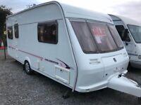 Fleetwood Colchester 500/5 2002 5 berth touring caravan