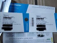 2 x Arctic Monkeys tickets TRNSMT Sunday 1st July