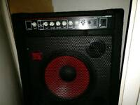Red sub 80w bass amp!
