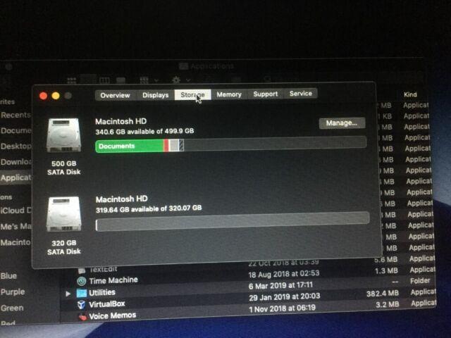 MacBook Pro Mid 2012, i7, 2 4GHz, 15inch, 16Gb RAM, 2x HDD, CS5, OS Mojave  + 10 Pro 64 bit | in Taunton, Somerset | Gumtree