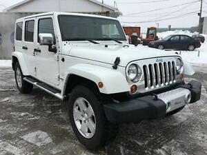 Jeep Wrangler Unlimited Sahara 201, BAS MILLAGE, FULL LOAD !!!