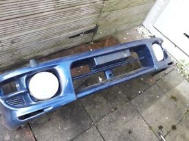 For sale subaru classic bumper good condition with fog lights £60