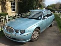 2002 Rover 75 Connoisseur 2.0 Diesel SE Automatic MOTd until 9th Feb 2019