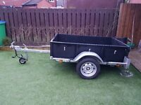Polytow 750kg trailer single axle not ifor williams