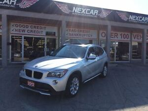 2012 BMW X1 AWD AUT0 LEATHER PANORAMIC ROOF 113K