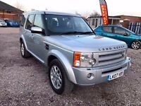 2007 Land Rover Discovery 3 2.7 TD V6 S 5d 7 SEATER + FSH +FULL LEATHER+FREE WARRANTY
