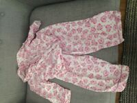 Monsoon girls pyjamas age 3-4 years