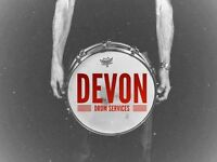Drum Tech Available - Devon Drum Services