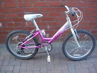 FOR SALE RALEIGH STARZ GIRLS BIKE.