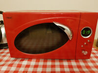 Next Red Microwave - going cheap