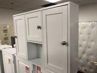 3 door on wall bathroom unit