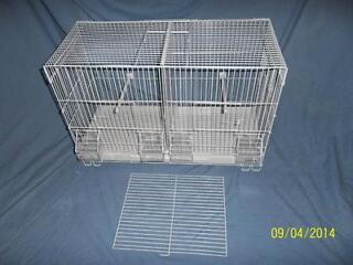 Wire double breeding cages *brand new*