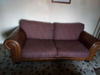 2 BEAUTIFUL LARGE 3 SEATER BARKER AND STONEHOUSE SOFAS ULTIMATE COMFORT FANTASTIC TO COZY UP ON