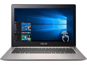 ASUS ZENBOOK UX303UA 13.3'' TouchScreen IPS FHD, Intel i5-6200u 8GB 256GB SSD, Win 10 +Mc Office Pro