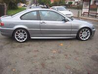 2005 BMW 330 CI COUPE M SPORT 3 SERIES LEATHER SAT NAV SERVICE HISTORY CAT C POSS PX
