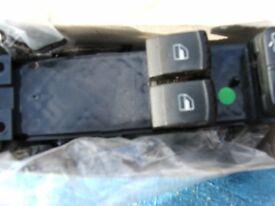 SKODA DRIVERS WINDOW SWITCH PACK
