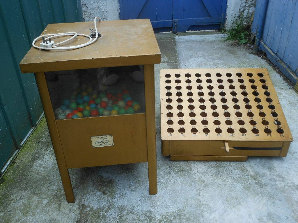used bingo machine for sale