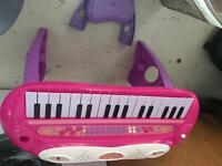 Girls piano and stool