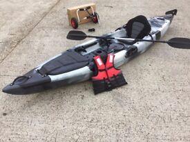 12ft 6 fishing kayak CAMBRIDGE KAYAKS