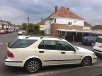Saab 9-5 Linear Estate 2002, 1985cc petrol, MOT until July 2017