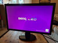 USED BenQ HD 1080p RL2455 24 inch Monitor, Black