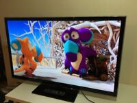 "47""PANASONIC LED 3D SMART FHD TV FREEVIEW USB HD WITH REMOTE CAN DELIVER"