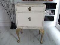 Bedside table/cabinet French style