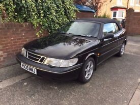 SAAB 900 SE CONVERTIBLE, SERVICE HISTORY, MOT OCT18, IN EXCELLENT CONDITION
