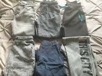 Boys bundle trousers & shorts aged 10