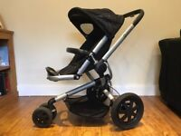 2013 Quinny Buzz Travel System (Rocking Black) (Carrycot, stroller, Maxi Cosi Pebble Car Seat)