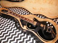 Columbus Les Paul Guitar with tremolo tailpiece + Hard Case