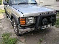 Land rover discovery td5 spares or repairs