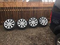Landrover , Range Rover sport discovery 3 , 4 22 inch alloy wheels