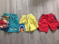 Boys Summer shorts, swimming 2-3
