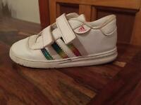 Child's adidas trainers