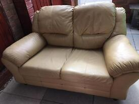 Small 2 seater sofa settee (NEEDS TO BE GONE ASAP)