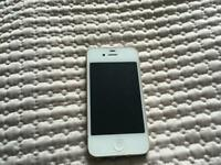 iPhone 4 in white 16GB o2 locked