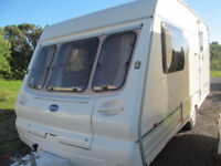 TIDY 2001 BAILEY 2 BERTH TOURER WITH A MOTOR MOVER +FULL AWNING AND EXTRAS