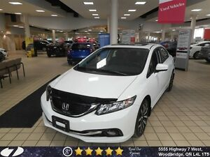 2015 Honda Civic Touring| Loaded, Leather, Navi