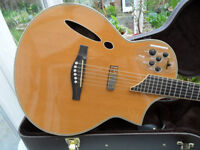 ibanez montage 700, hybrid, rare guitar,with affects