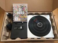 Playstation 3 DJ hero game and kit