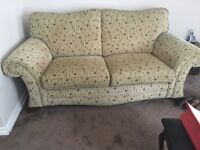 3seater and 2 armchairs