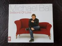 CD for sale £5.00 - Michael Ball 'Seasons of Love' - double cd
