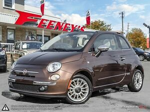 2012 Fiat 500 Lounge- CONVERTIBLE, LEATHER