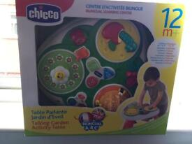 Chicco activity table new in box