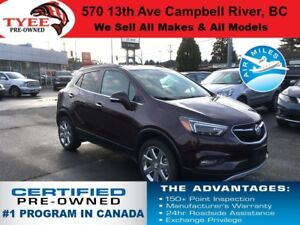 2017 Buick Encore Premium AWD Bluetooth Heated Seats Rear Camera