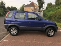 2006 Daihatsu Terios 1.3 Tracker 5dr Manual @07445775115