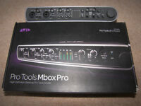 AVID Digidesign MBox 3 PRO , USB Audio / Midi interface for PC and MAC.