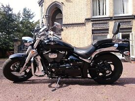 Suzuki Intruder M800, not Harley Sportster, Kawasaki Vulcan, Yamaha Dragstar, Honda Shadow, Rebel