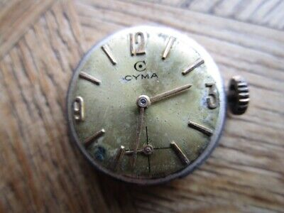 Vintage Ladies CYMA Manual Movement Cal. R 424. For Parts.
